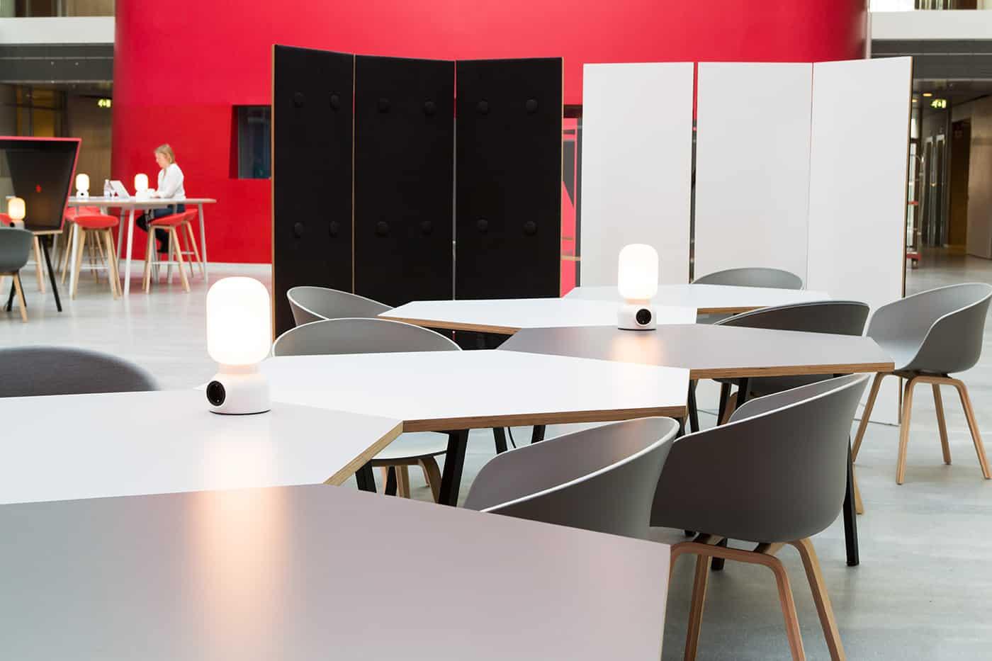 RITAarch DR Danmarks radio, indretning, lounge, DR gaden, Dr news, arbejdsområde, kontorindretning, mødehaven, kreativt møde, brainstorm, detalje indretning