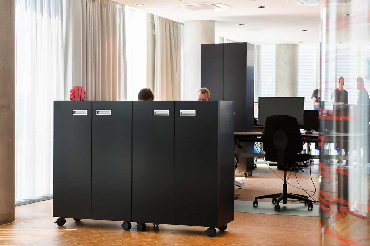 RITAarch, Exerp, indretning, København, Kontorindretning, åbentkontor
