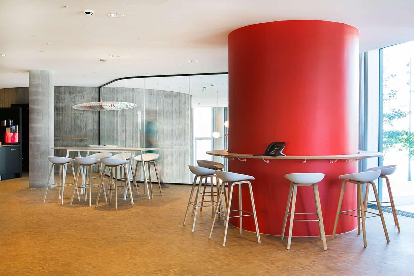 RITAarch, Exerp, indretning, København, Kontorindretning, detalje, specialinventar, specialdesign, dropin