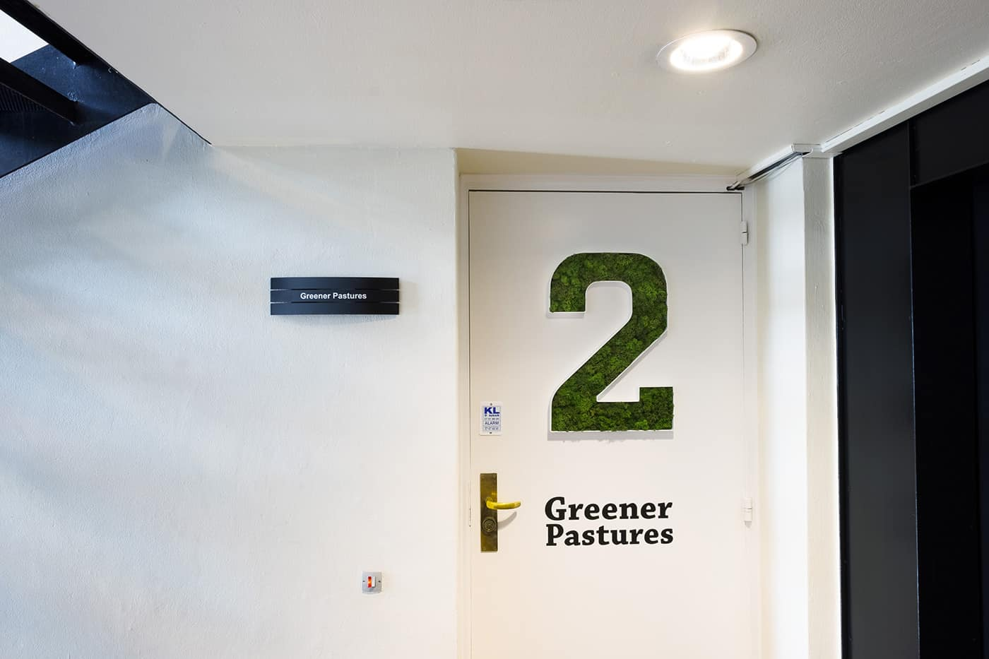 RITAarch, Greener Pastures, indretning, mødelokaler, grafik, detalje, grafikmos