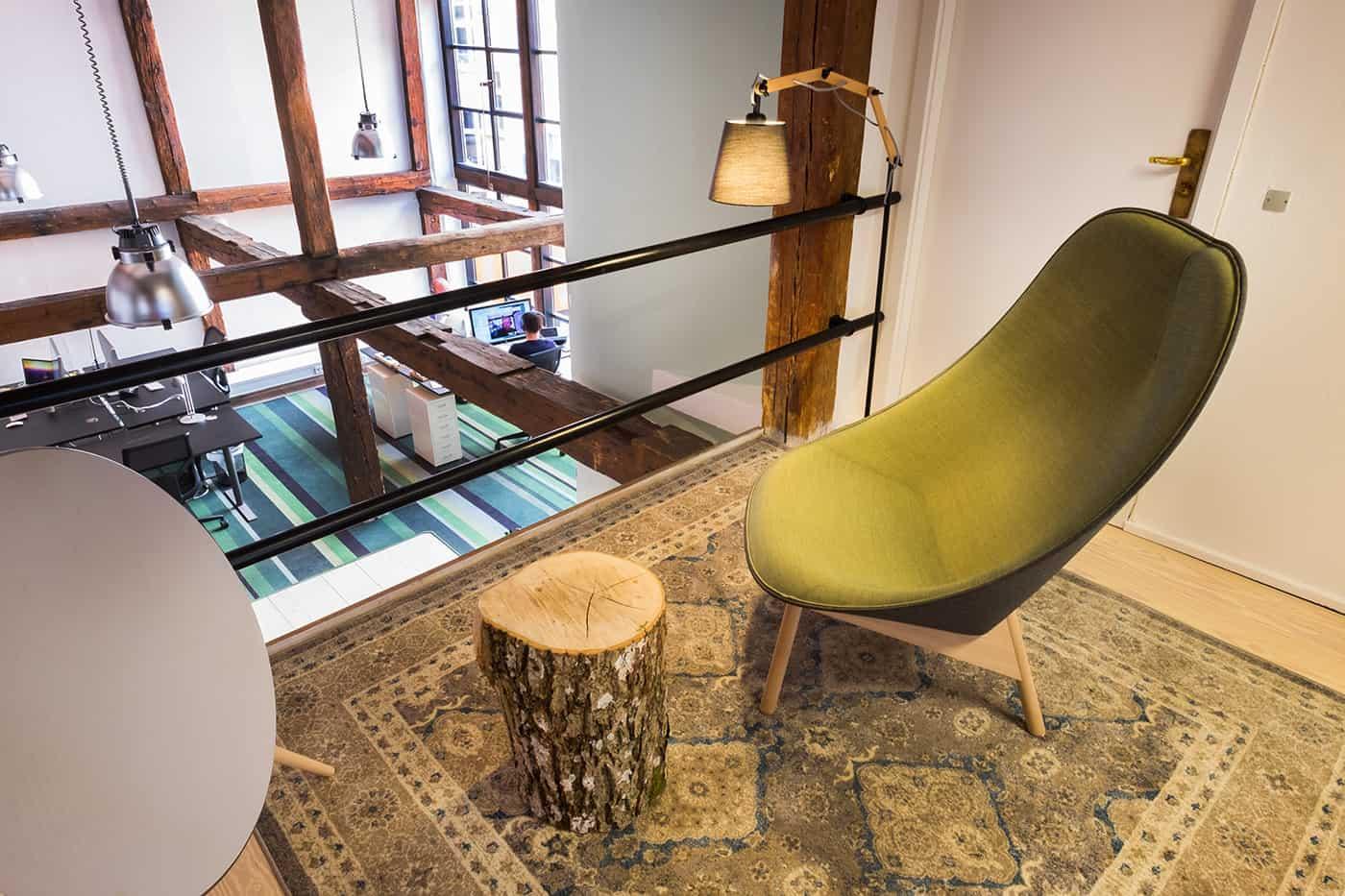RITAarch, Greener Pastures, indretning, drop in, lounge
