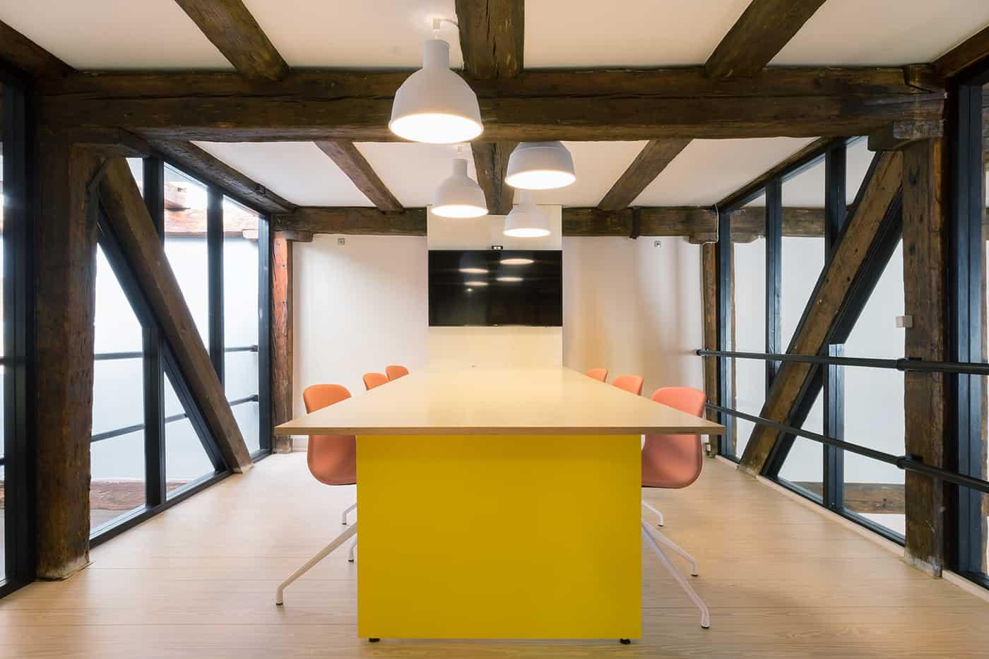 RITAarch, Greener Pastures, indretning, mødelokaler, specialinventar, specialdesign, transformation