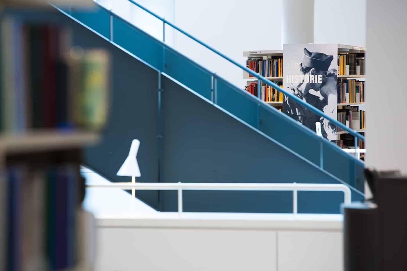 RITAarch, Indretning, spaceplanning, biblioteksdesign, biblioteksindretning, wayfinding, grafik, spaceplanning, arkitektur, Detalje, Holbæk bibliotek