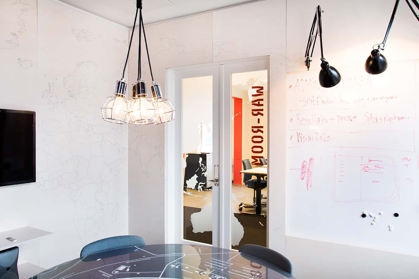 RITAarch, indretning, spaceplanning, kontorindretning, mødelokale, wareroom, specialinventar, specialdesign, Nyt hospital Nordsjælland projekthus