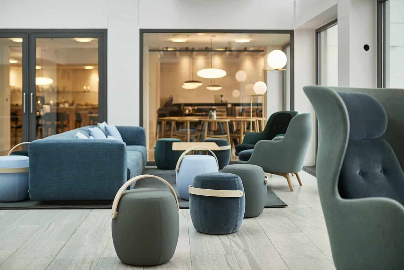 RITAarch Rosendahl Design Group, indretning, dropping, lounge, socialsamling