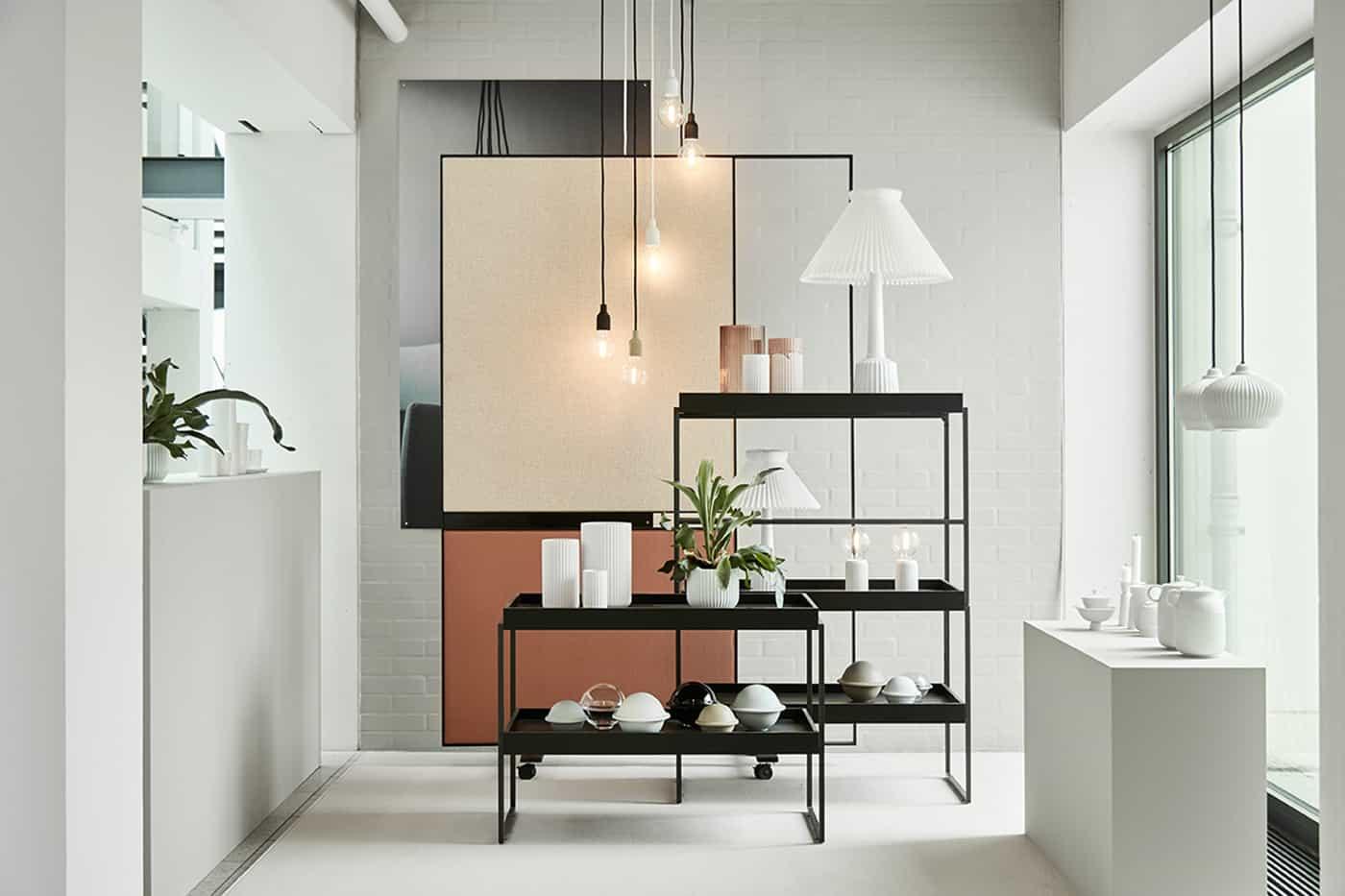 RITAarch Rosendahl Design Group, indretning, specialinventar, fleksible rammer, afskærmning
