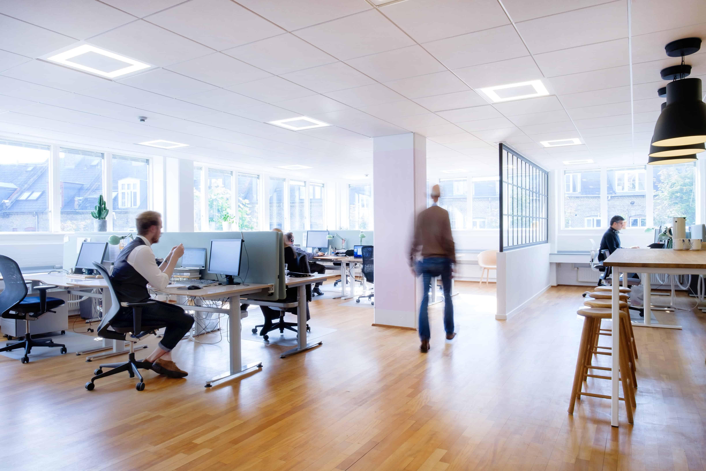 RITAarch, Indretning, spaceplanning, kontorindretning, erhvervsindretning, wayfinding, grafik, Timelog, Timelog København
