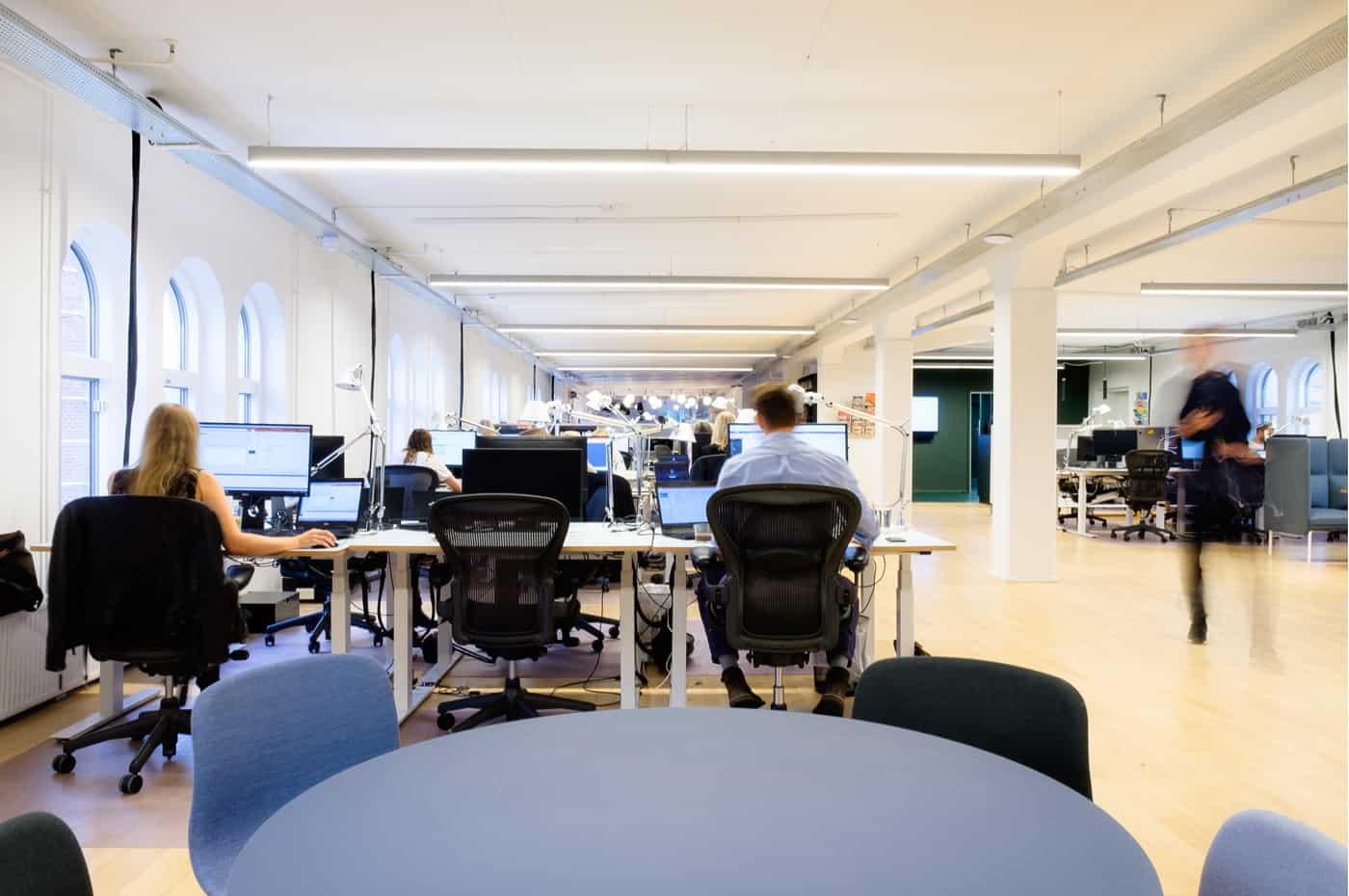 RITAarch, Indretning, spaceplanning, erhvervsindretning, kontorindretning, officedesign, specialinventar, interiør, Havas danmark, Havas